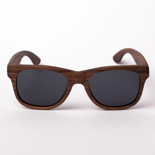 Molokai Grey Samoa Sun gafas de ebano