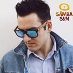 Samoa Sun Urban Maui Beach Blue Mirror