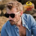 Samoa Sun Gafas de sol hombre mujer unisex de madera polarizadas
