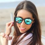 Samoa Sun Sunglasses Fiyi Beach Blue Mirror