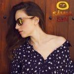 Samoa Sun Sunglasses Maui Beach Golden Mirror