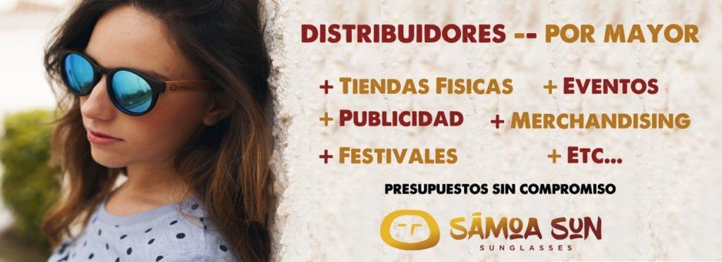 Gafas de Sol para distribuidores por mayor