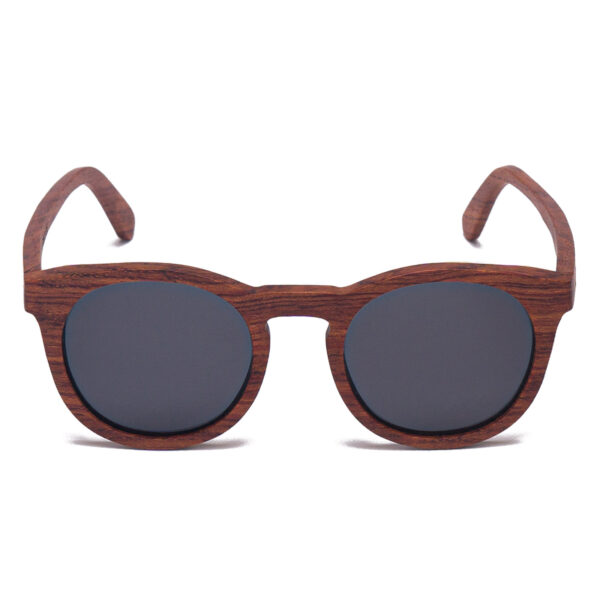 Samoa Sun | Gafas de sol de madera Jarvis Grey