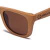 New Zealand Brown Samoa Sun gafas de madera
