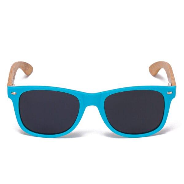 Samoa Sun   Gafas de sol de madera Pacific Blue