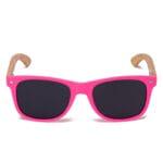Samoa Sun | Gafas de sol de madera Pacific Pink