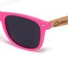 Pacific Pink Samoa Sun gafas de madera
