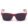 Samoa Sun   Gafas de sol de madera Pacific Red