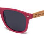 Pacific Red Samoa Sun gafas de madera