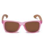 Samoa Sun   Gafas de sol de madera Pacific Crystal Pink Lover