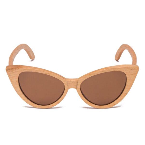 Samoa Sun | Gafas de sol de madera New Caledonia Brown
