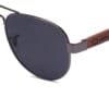 Ellice Grey Samoa Sun gafas de madera