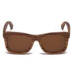Samoa Sun | Gafas de sol de madera Waikiki Brown