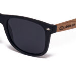 Maui Beach Black Samoa Sun gafas de madera