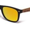 Maui Beach Golden Mirror Samoa Sun gafas de madera
