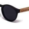 Fiyi Beach Black Samoa Sun gafas de madera