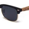 Solomon Black Samoa Sun gafas de madera